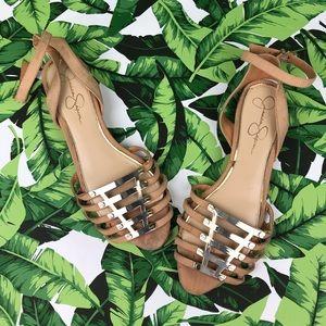 5 for $25 Jessica Simpson Strappy Kitten Heel
